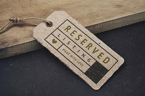 reserved for Heidi