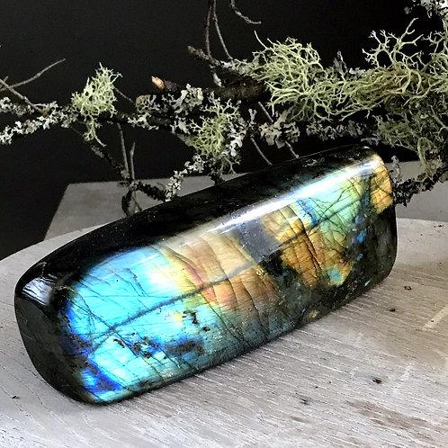 labradorite display piece