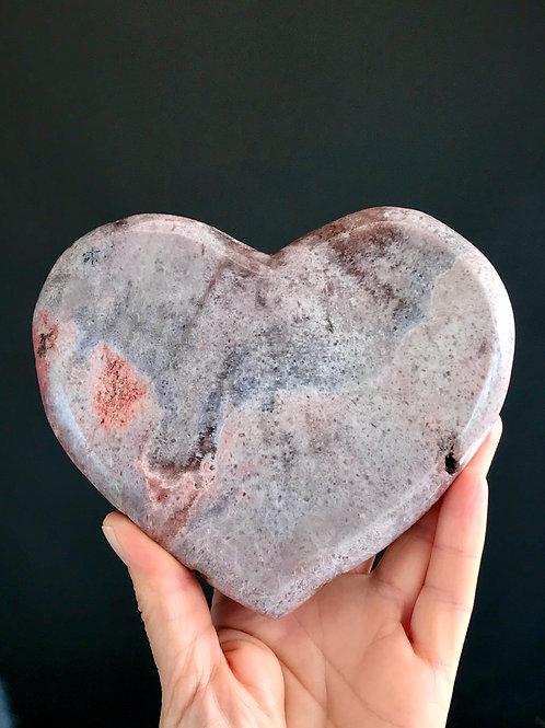 PA 55/765  ◦◦1.68lb◦◦ pink/purple amethyst heart