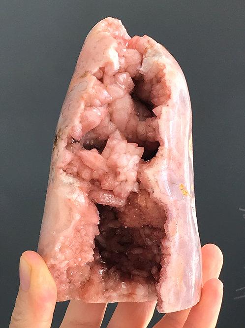 PA 50/1168 ◦◦2.57lb◦◦ pink amethyst druzy