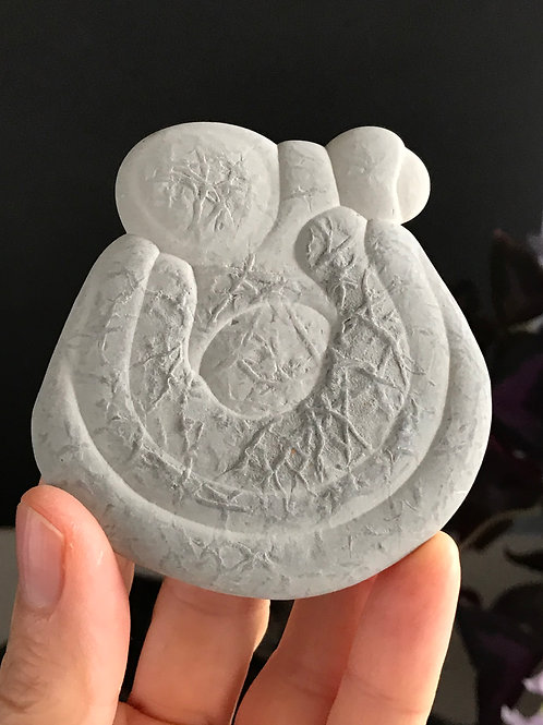 "3.5"" rare fairy stone"