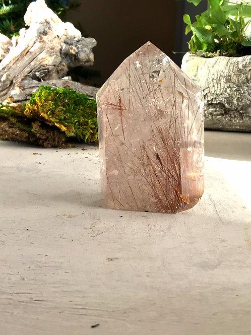 1.17lb copper rutile in quartz