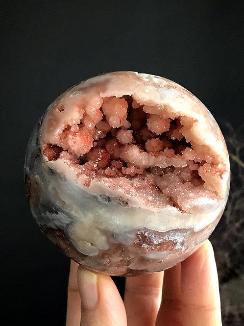 1.20lb pink amethyst sphere
