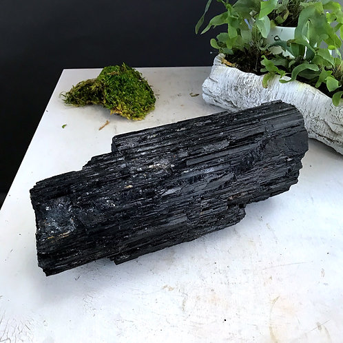 41.88 lb raw black tourmaline