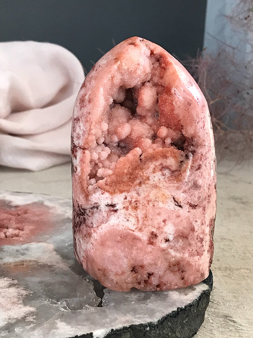 PA 50/692 ◦◦1.52lb◦◦ pink amethyst geode