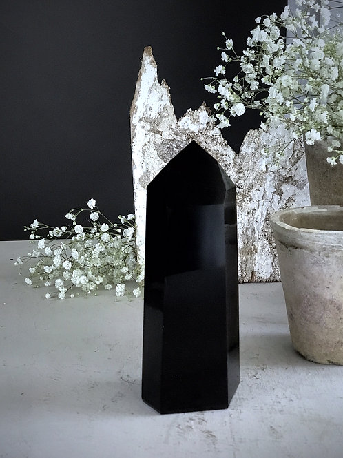 2.38lb obsidian point