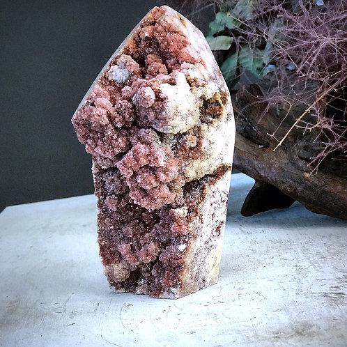 PA 60/1100  2.64lb pink amethyst druzy