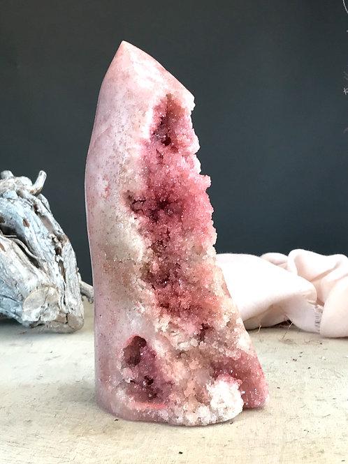 PA 55/2242 ◦◦4.94lb◦◦ pink amethyst geode