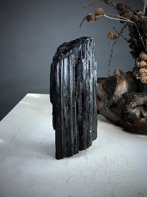 10.07 lb raw black tourmaline
