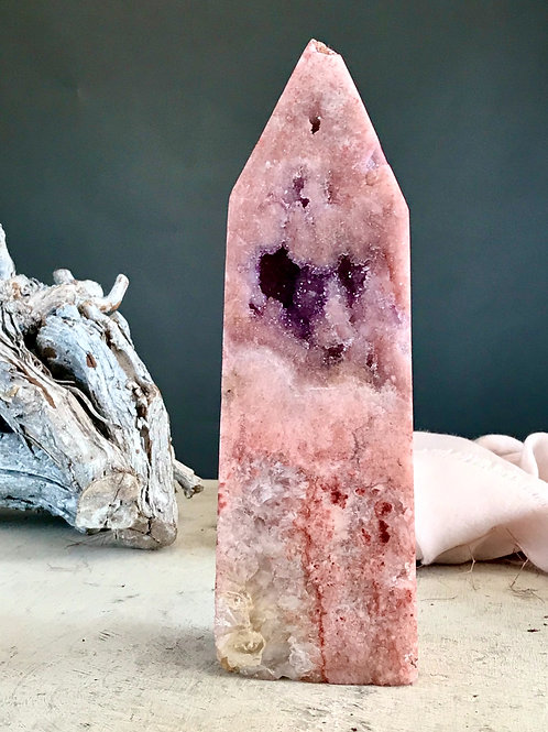 PA 78/2222 ◦◦4.89lb◦◦ pink amethyst point