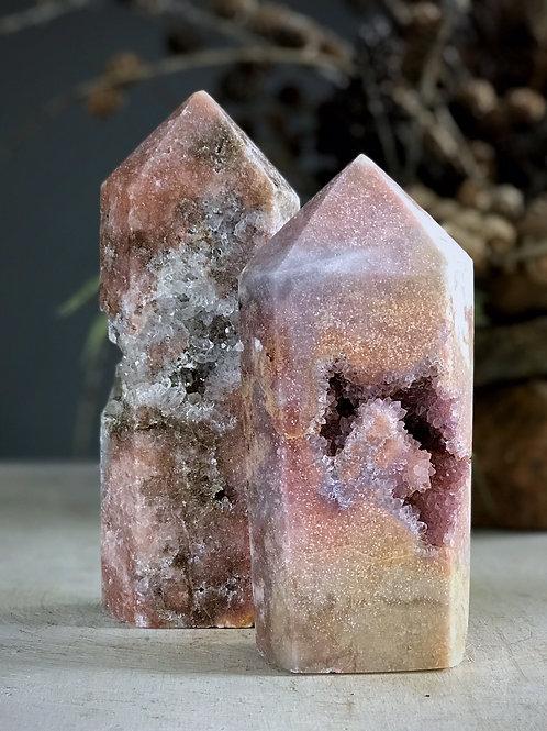 PA 90/1134  2.63lb pink amethyst druzy
