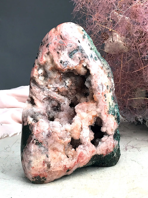 PA 50/3400  ◦◦7.49lb◦◦ pink amethyst druzy
