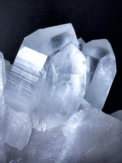11.02 lb quartz cluster