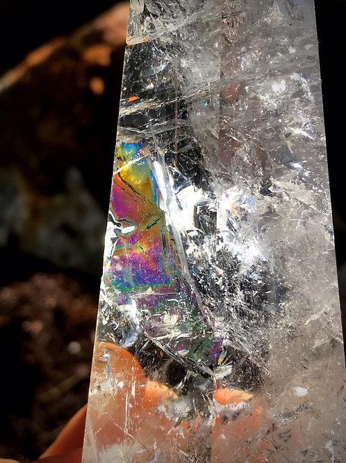 0.66lb copper rutile in quartz