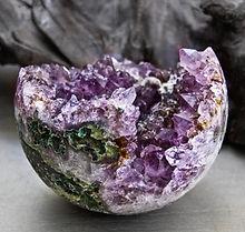 plains of stone - amethyst orb