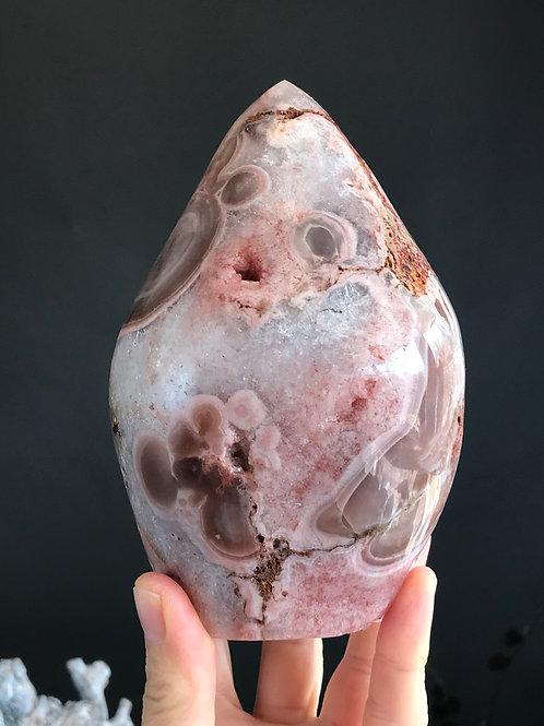 PA 74/1766  ◦◦3.89lb◦◦  pink amethyst flame