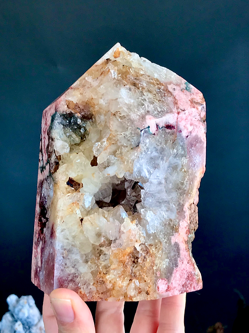 PA 75/1852 ◦◦4.08lb◦◦ pink amethyst point