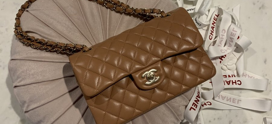 The Chanel Caramel Classic Flap is here