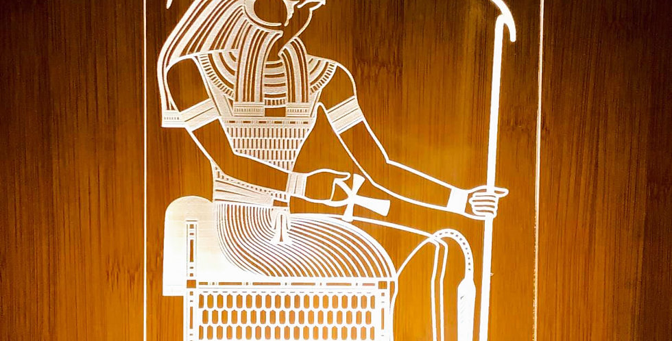 Beam-Lux: Ra, who is Horus of the Two Horizons LED lamp