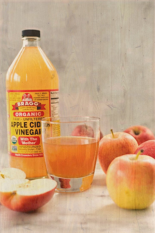 BRAGG ORGANIC APPLE CIDER VINEGAR 16OZ.
