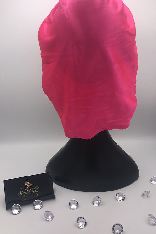 Pink Satin Bonnets
