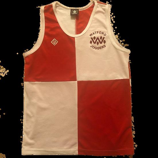 Ladies Harlequin running vest