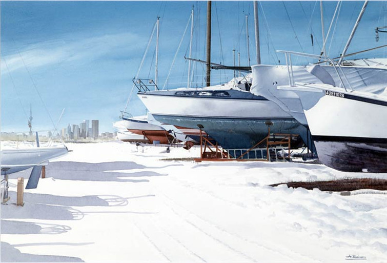 Winter Rest at the Outer Harbour Marina