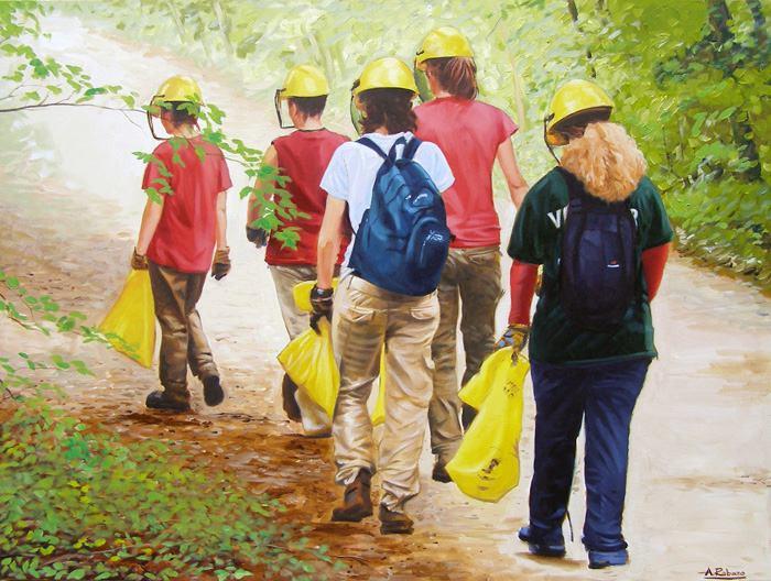 Junior Rangers at Killarney Provincial Park