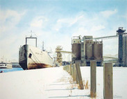 Winter at the Harbour