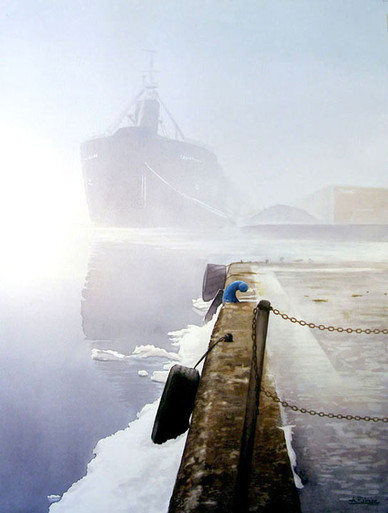 Fog at the Toronto Harbour 2