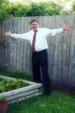 2Butch always loved his vegetable garden