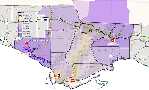Regional Wokforce Map