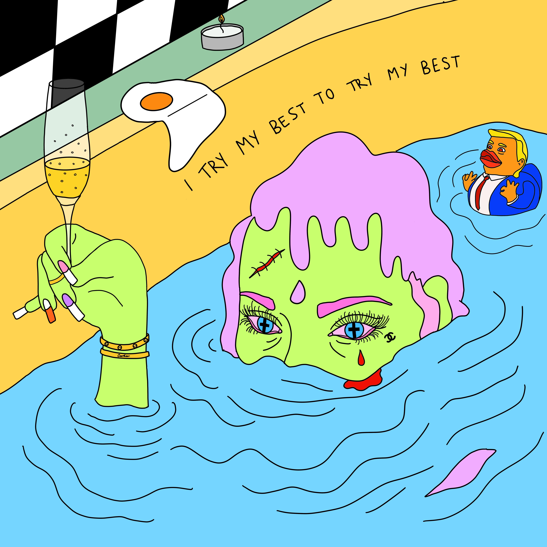 BATH SCARE