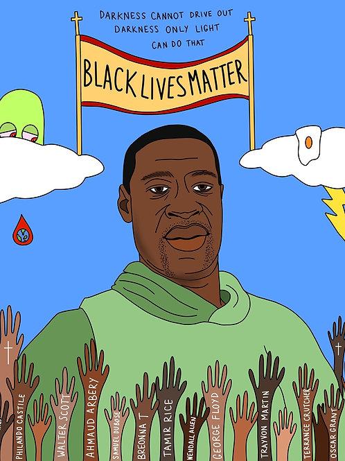 BLACK LIVES MATTER - GEORGE FLOYD