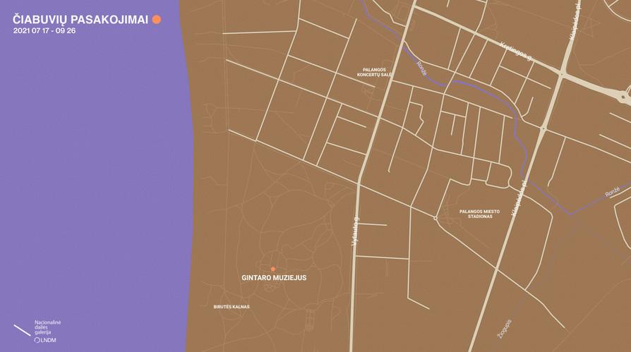 Palangos žemėlapis