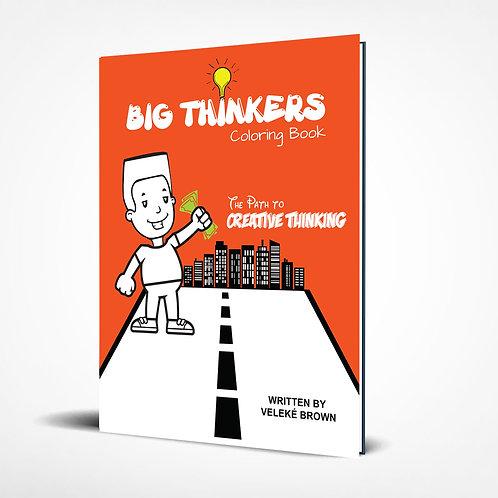 Big Thinkers Coloring Book (BoyCharacter)