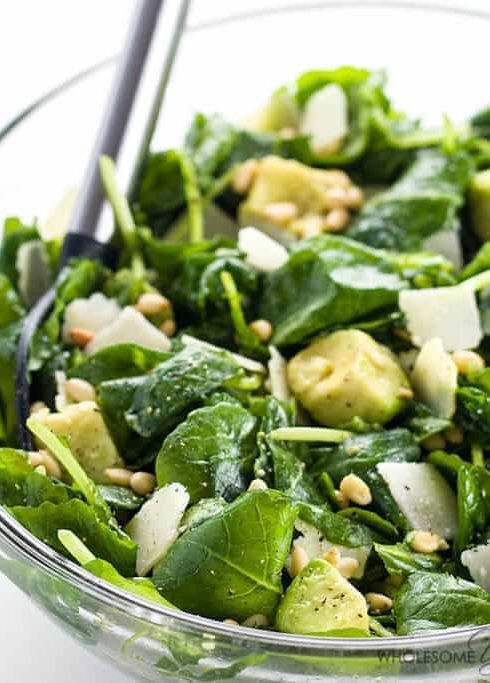 wholesomeyum_baby-kale-avocado-salad-with-lemon-garlic-vinaigrette-and-parmesan-1.jpg