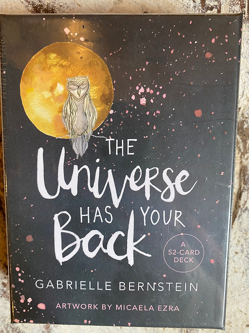 Universe HasYour Back cards