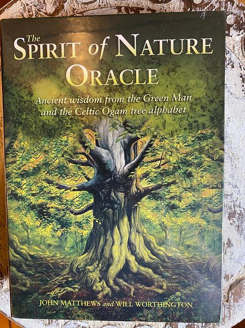 Spirit of Nature Oracle card deck set