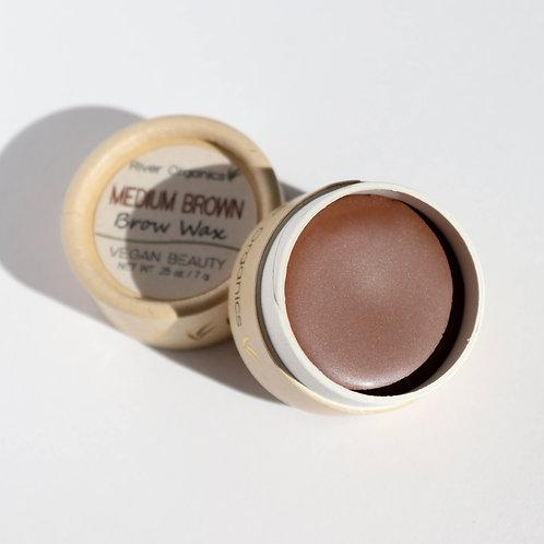Brow wax, medium brown