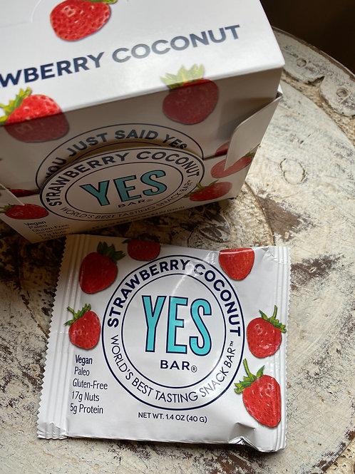 Strawberry Coconut Bar