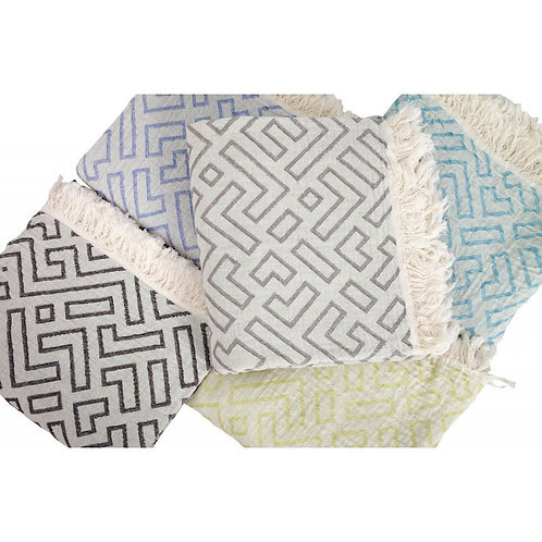 Pestemal Towels Muslin style in Aqua