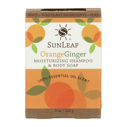 Shampoo and Body Bar~Orange Ginger
