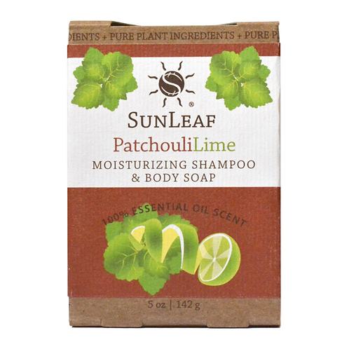 Shampoo and Body Bar ~Patchouli Lime