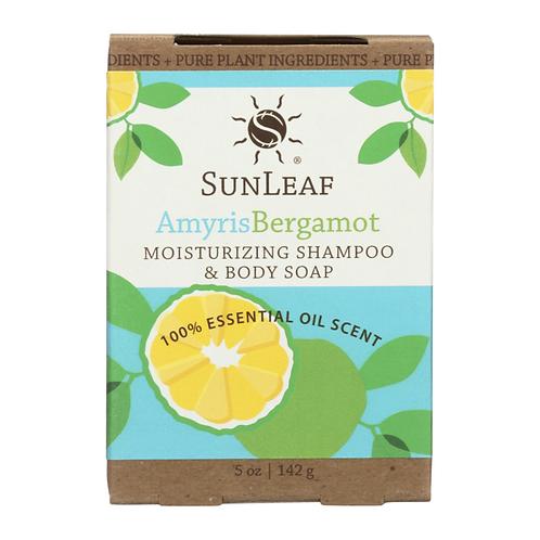 Shampoo and body bar soap~Amyris Bergamot