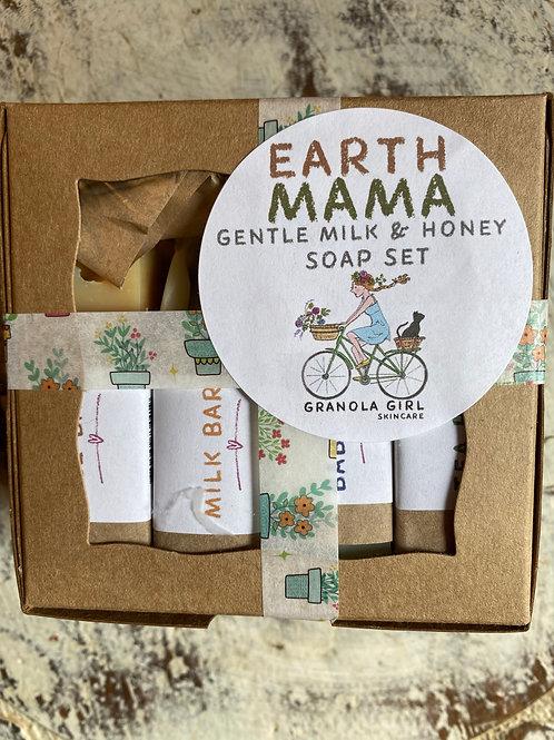 Earth Mama soap set