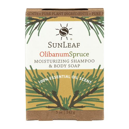 Shampoo and Body Bar~Olibanum Spruce