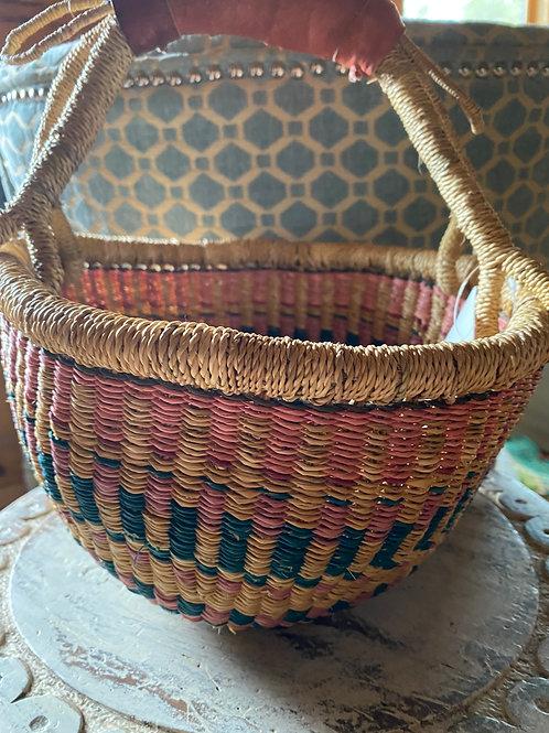 Ghana large mini Bolga basket