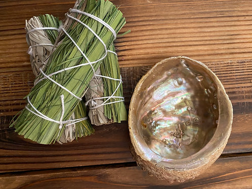 Sweetgrass and White Sage