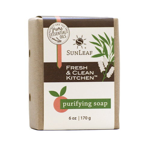 Natural kitchen soap